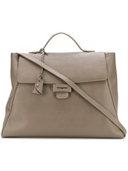Myriam Schaefer Byron Tote Bag Nude And Neutrals