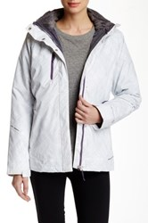 Free Country Ibis Faux Fur Lined 3 In 1 Jacket White