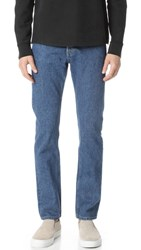 Our Legacy Stonewash First Cut Jeans Blue
