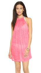 Pitusa Aegean Mini Cover Up Hot Pink