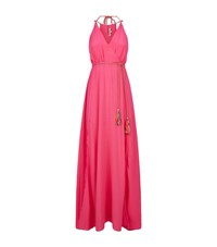 Lazul Rope Detail Maxi Dress Female Pink
