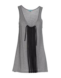 Macri Topwear Tops Women Grey