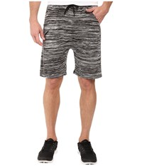 Publish Bazel Heathered Knit Shorts Black Men's Shorts