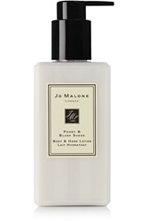 Jo Malone London Peony And Blush Suede Body And Hand Lotion Colorless