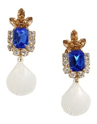 Erika Cavallini Semi Couture Erika Cavallini Semicouture Jewellery Earrings Women Blue