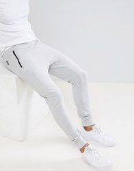 D Struct Pique Slim Fit Joggers Grey