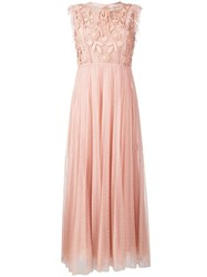 Red Valentino Tulle Pleated Dress 60