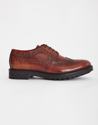 Base London Davy Chunky Brogue Tan