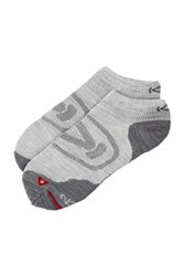 Keen Zing Ultralite Low Cut Socks Gray