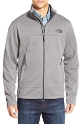 The North Face Men's 'Canyonwall' Fleece Jacket High Rise Grey Heather