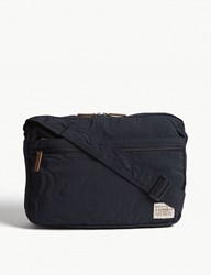 Barbour Packaway Nylon Messenger Bag Navy