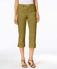 Styleandco. Style Co. Cropped Cargo Pants Only At Macy's Olive