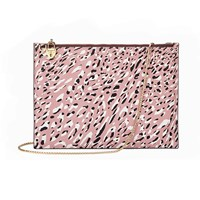 Aspinal Of London Soho Pouch Leopard Print