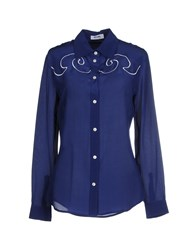 Moschino Cheap And Chic Shirts Blue