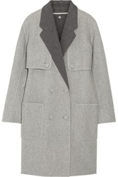 Alexander Wang Reversible Wool Blend Cocoon Coat