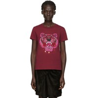 Kenzo Red Limited Edition Holiday Tiger T Shirt