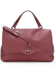 Zanellato Medium 'Postina' Tote Bag Pink And Purple