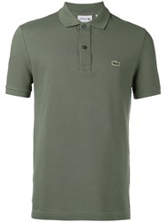 Lacoste Logo Polo Shirt Green