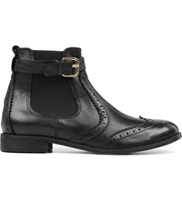 Carvela Slow Leather Ankle Boots Black