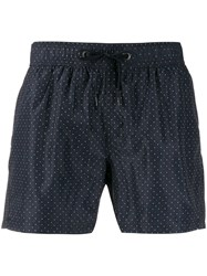 Rrd Polka Dot Swimming Shorts 60 Navy
