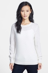 Classiques Entier 'Staccato' Wool And Cashmere Sweater White