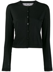 Red Valentino Buttoned Cardigan Black