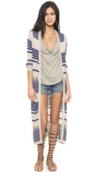 Mara Hoffman Knit Long Cardigan