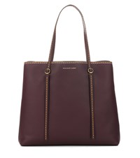 Polo Ralph Lauren Lennox Leather Tote Brown