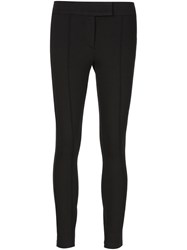 Getting Back To Square One Cropped Trousers Black