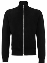 Prada Wool And Cashmere Cardigan Black