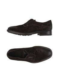 N.D.C. Made By Hand Lace Up Shoes Dark Brown