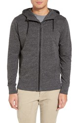 Good Man Brand Men's Microlight French Terry Hoodie Charcoal Heather