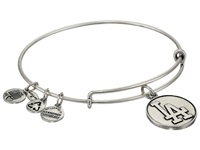 Alex And Ani Mlb Los Angeles Dodgers Charm Bangle Rafaelian Silver Finish Bracelet