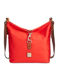 Dooney And Bourke Windham Annie Sac Hobo Bright Red