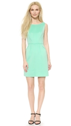 Milly Seamed Detail Sheath Dress Mint