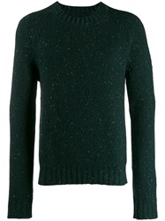 Maison Martin Margiela Glitter Effect Sweater Green