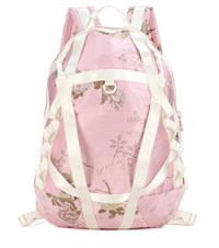 Fenty By Rihanna Parachute Satin Backpack Pink