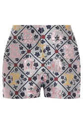 Mary Katrantzou Jacquard Sarafi Shorts