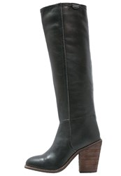 Pepe Jeans Duncan High Heeled Boots Black
