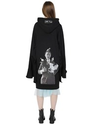 Rolling Acid Oversize Hooded Cool Cotton Jacket