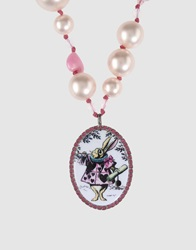 Tarina Tarantino Necklaces Light Pink