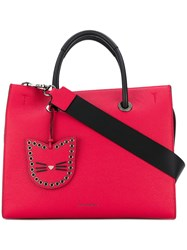 Karl Lagerfeld Karry All Shopper Tote Red