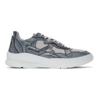 Filling Pieces Navy Low Fade Cosmo Infinity Sneakers