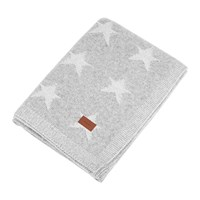 Gant Vernon Knit Throw Grey