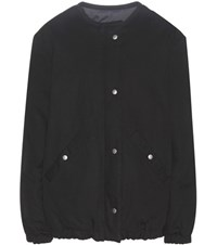 Etoile Isabel Marant Celia Reversible Cotton Blend Puff Jacket Black