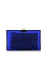 Charlotte Olympia Pandora Colour Clutch Box W Spider Clasp