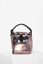 Nasty Gal Nila Anthony Hologram Followers Bucket Bag