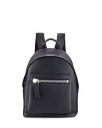 Tom Ford Buckley Calf Leather Backpack Blue