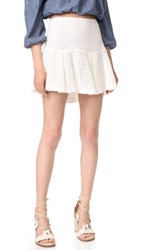 Derek Lam 10 Crosby Flared Skirt Soft White