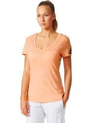 Adidas Training V T Shirt Sun Glow